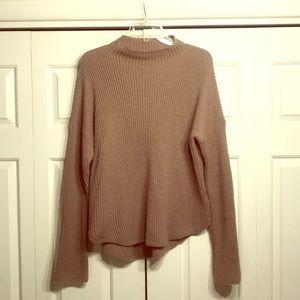 Express Mock-Turtleneck Sweater